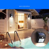 LED Solar Outdoor Garden lamp with Motion Sensor and Waterproof