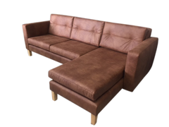 Braxton Chaise lounge - Tan