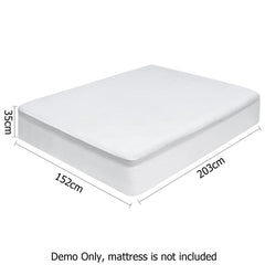 Giselle Bedding Queen Size Waterproof Bamboo Mattress Protector