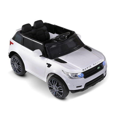 Kid's Electric Ride on Car Range Rover Coupe - White