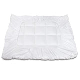 Giselle Double Mattress Topper Bamboo Fibre Pillowtop Protector