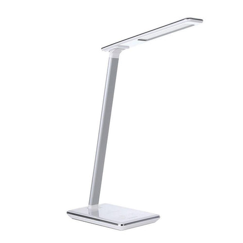 Simplecom EL818 Dimmable LED Desk Lamp with Wireless Charging Base