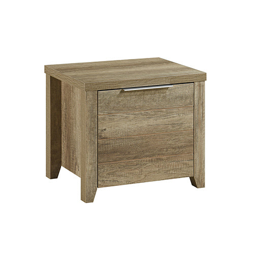 Cielo Bedside Table With Drawer Oak