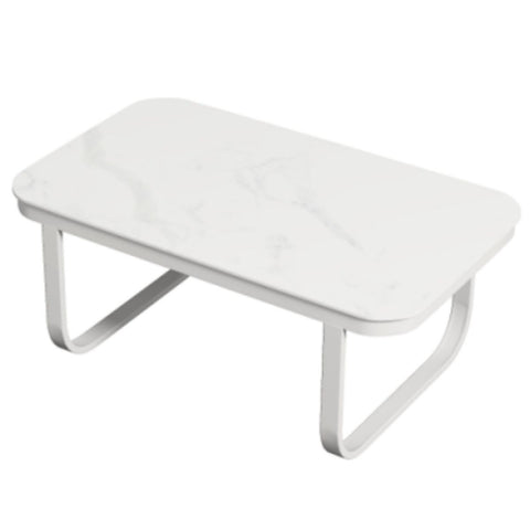 Milano Marble White Outdoor Table