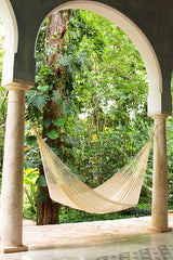 King Size Cotton Hammock in Cream
