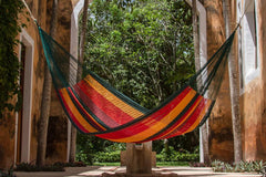 Queen Size Cotton Hammock in Imperial