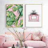 Canvas Pictures Home Decor Nordic Style Pink Style Perfume Picture Paintings Wall Art Prints Poster Hotel Modular Living Room