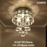 LED Crystal Chandelier Light Lamp