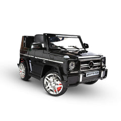 Kid's Electric Ride on Car Licensed Mercedes Benz G65 - Black