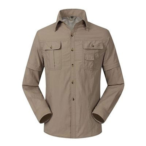 Mountainskin Quick Dry Zip Off Outdoor Hiking Shirt, Shirts - Hikeoholics.com
