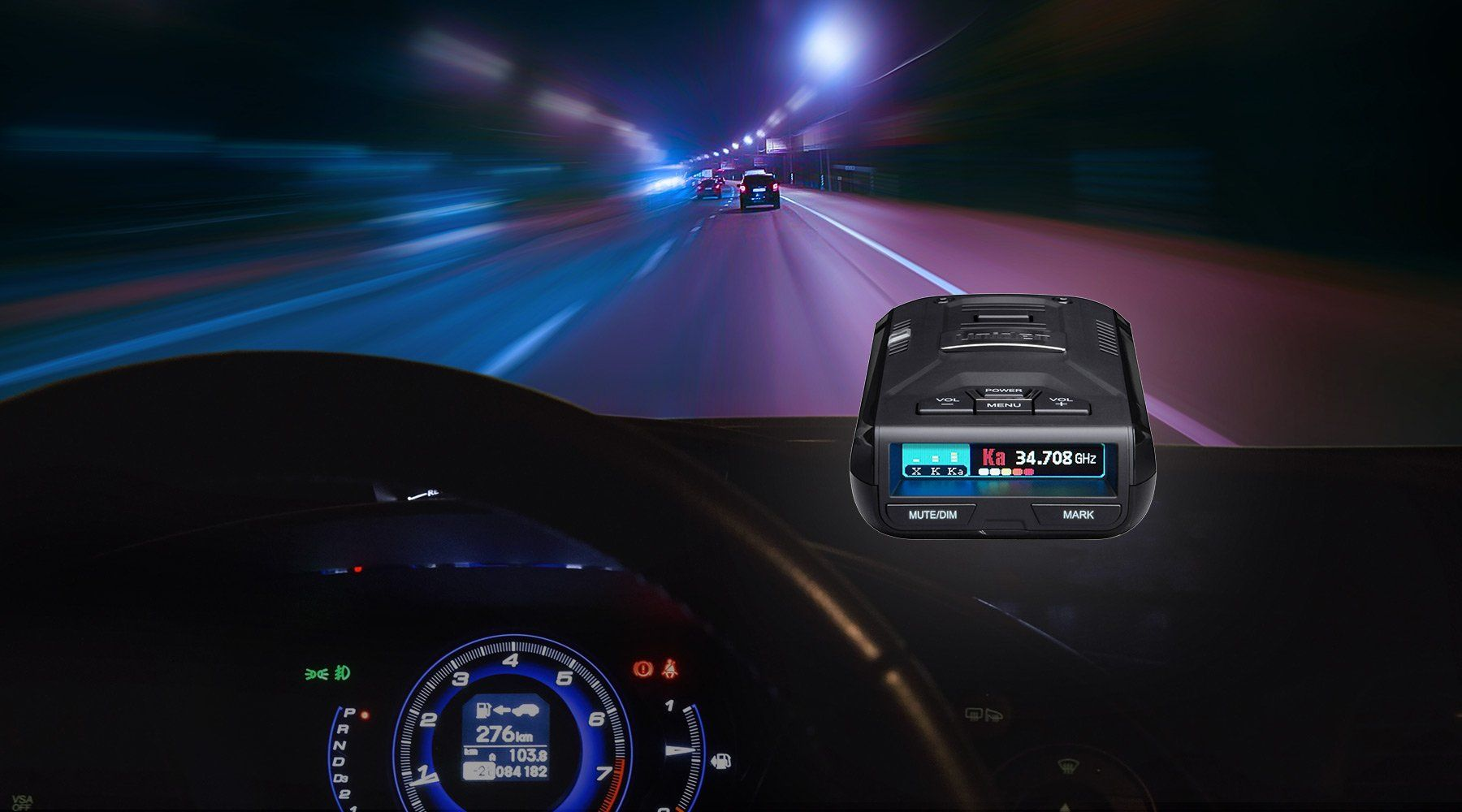 Uniden Radar Detectors Confidence On The Road