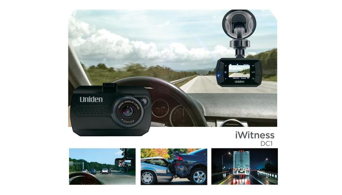 2 Dash Camera with G-sensor & 140° Viewing DC1 Dash Cam Uniden