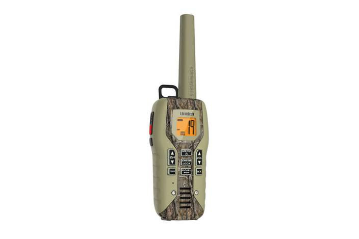 2-camo two way radio charger and headset GMR5088-2CKHS walkie talkie uniden