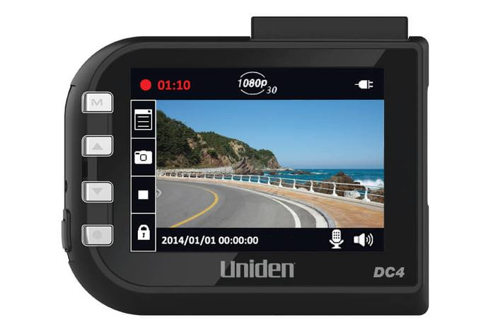 2 dash camera with lane departure warning and gps DC4GT dash camera uniden