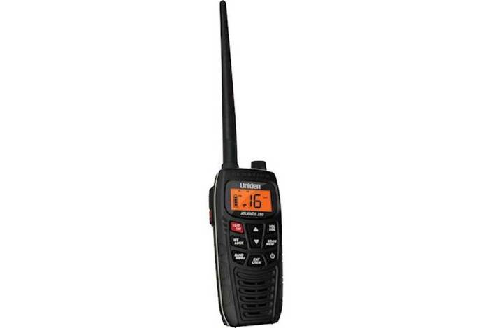 2 handheld two way marine radio atlantis 290 marine radio uniden