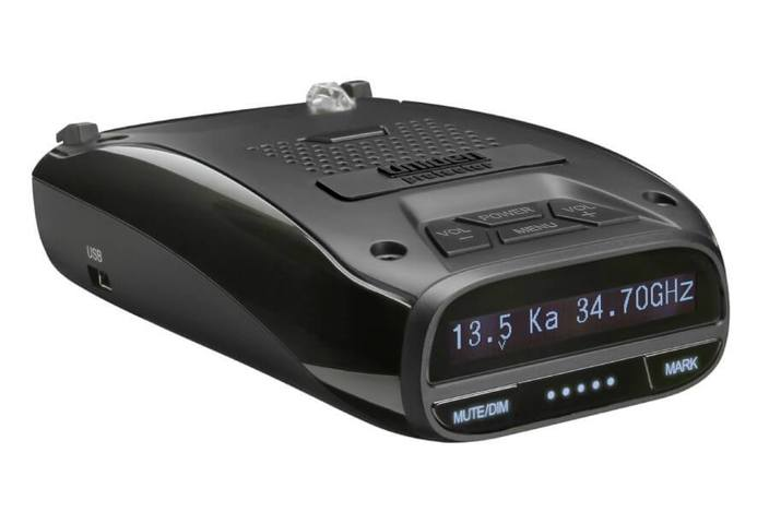 2 long range laser radar detector gps red light alert DFR7 radar detectors uniden