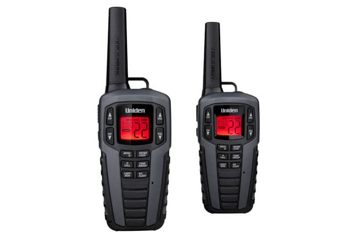 2 two way charger and headset SX377-2CKHS walkie talkie uniden