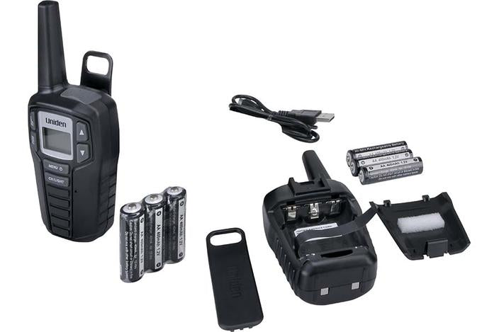 2 two way radio SX237-2C walkie talkie uniden