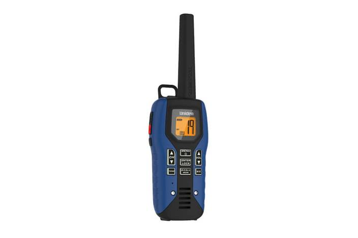GMR5095-2CKHS Two-Way Radio with Charger and Headset Walkie Talkie Uniden