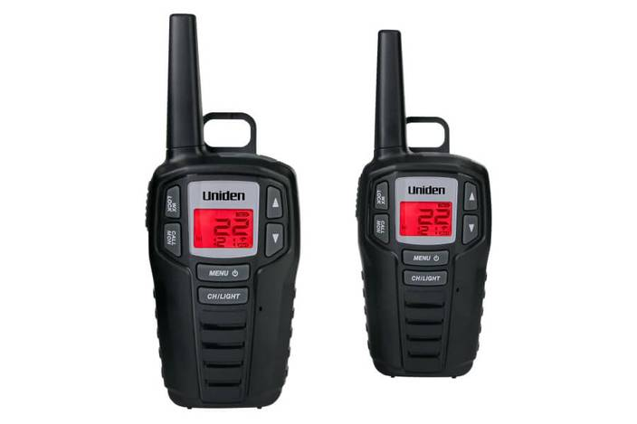 2 two way radio charging kit SX237-2CK walkie talkie uniden