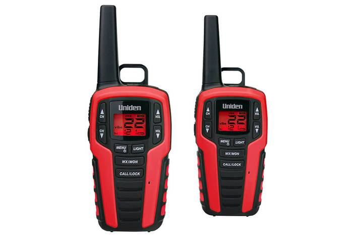 2 two way radio charging kit SX327-2CK walkie talkie uniden