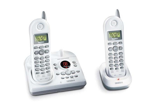 2.4 GHz cordless answering system DXAI4588-2 cordless phones uniden