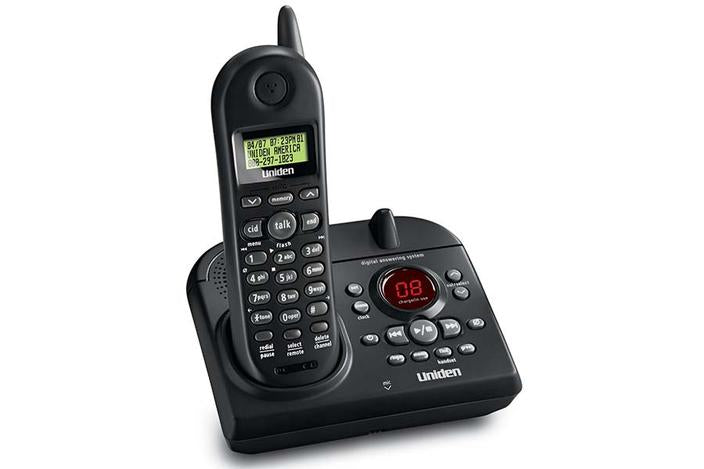 2.4 GHz cordless phone answering system EXAI4581 cordless phones uniden