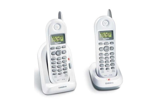 2.4 GHz cordless phone white DXI4560-2 cordless phones uniden
