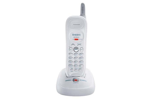2.4GHz extended range cordless phone white EXP7240 cordless phones uniden