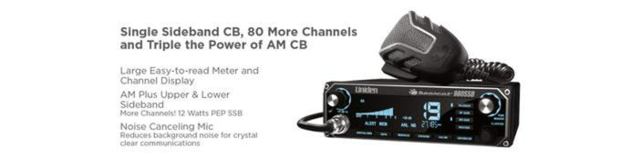 3 40 channel SSB CB radio with 7 color display BEARCAT980 cb radio uniden