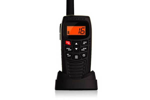 3 Handheld Two-Way Floating VHF Marine Radio Atlantis 270 Marine radio Uniden