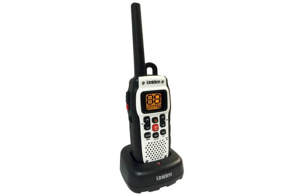 3 Handheld Two-Way Floating VHF Marine Radio Atlantis 150 Marine Radio Uniden
