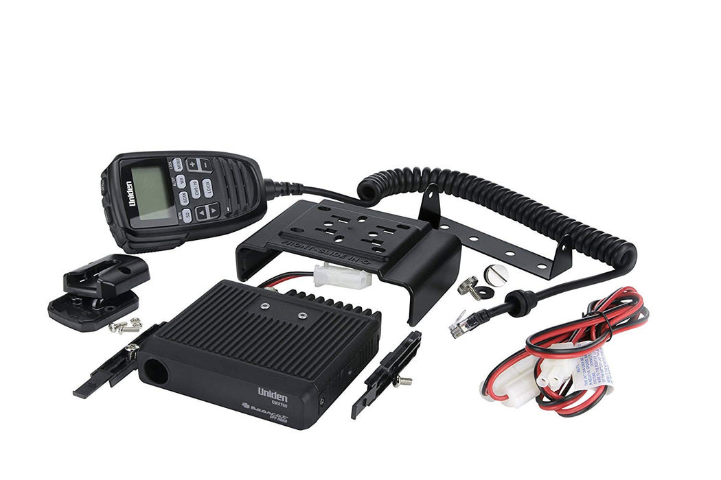 CMX760 Bearcat Off-Road Compact CB Radio with Mic Display Uniden