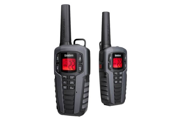 3 two way charger and headset SX377-2CKHS walkie talkie uniden