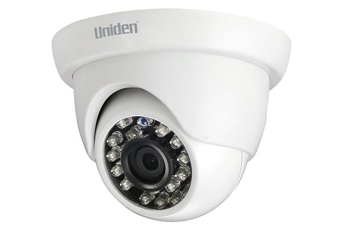 3 wired 1080P 6 camera G7842D2 security system uniden