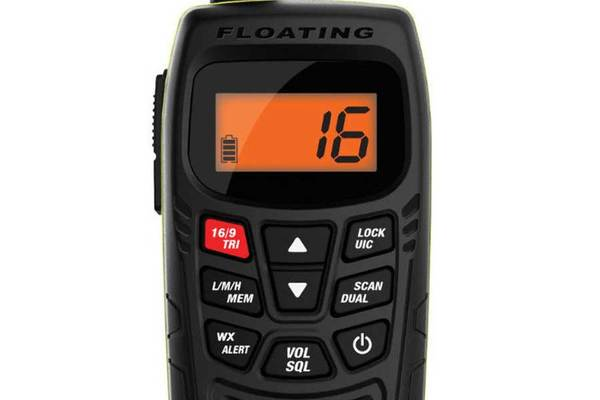 4 Handheld Two-Way Floating VHF Marine Radio Atlantis 270 Marine radio Uniden