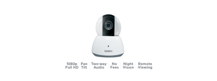 4 Indoor PTZ WIFI Camera APPCAM40PT security camera uniden