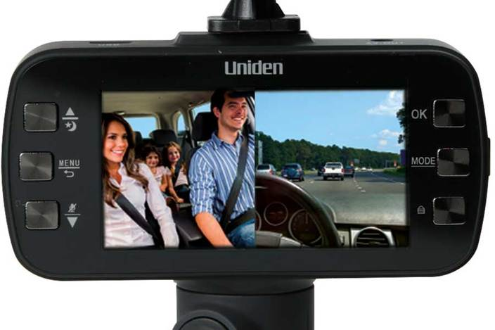 4 Dash Camera with Front & Rear Cameras DC115 Dash Camera Uniden