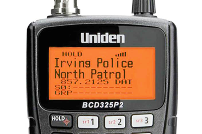 Handheld TrunkTracker V scanner — Uniden America Corporation