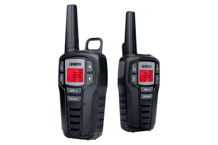 4 two way radio charging kit SX237-2CK walkie talkie uniden
