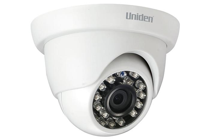 4 wired 1080P 6 camera G7842D2 security system uniden