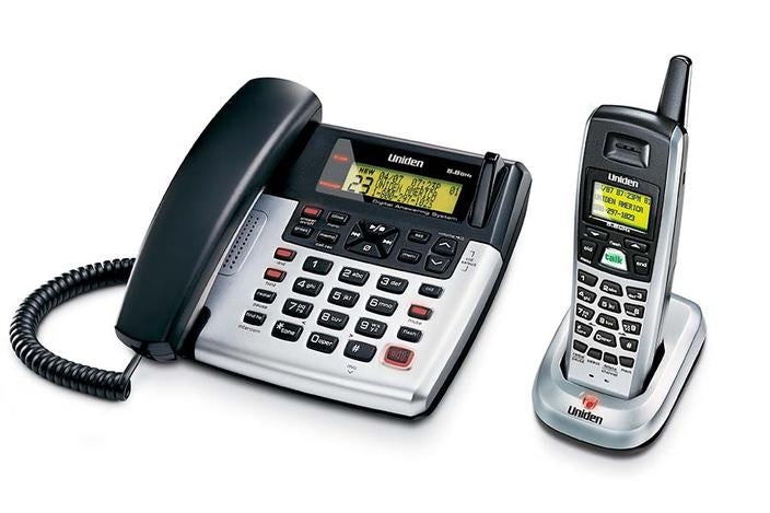 5.GHz extended range corded cordless phone CXAI5698 cordless phones uniden