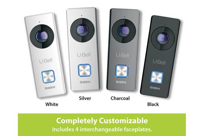 6 u bell wireless video doorbell DB1 security cameras uniden