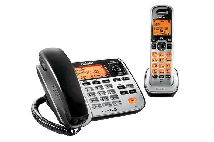 6.0 cordless digital answering system D1688 cordless phones uniden