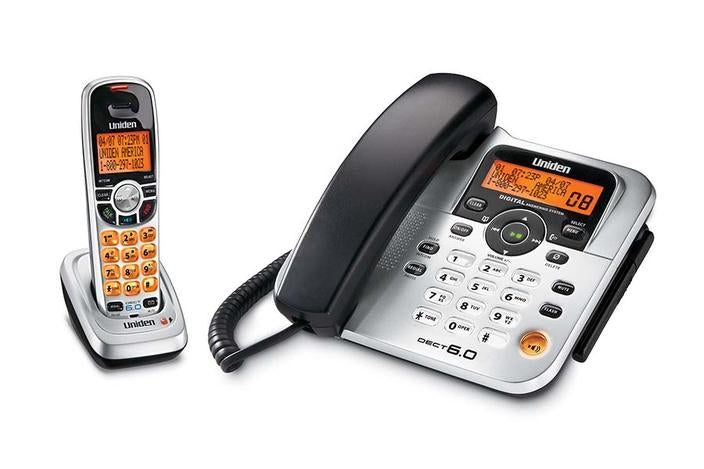 6.0 interference free cordless phone DECT1588 cordless phones uniden
