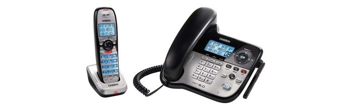 6.0 interference free cordless phone DECT2188 cordless phones uniden