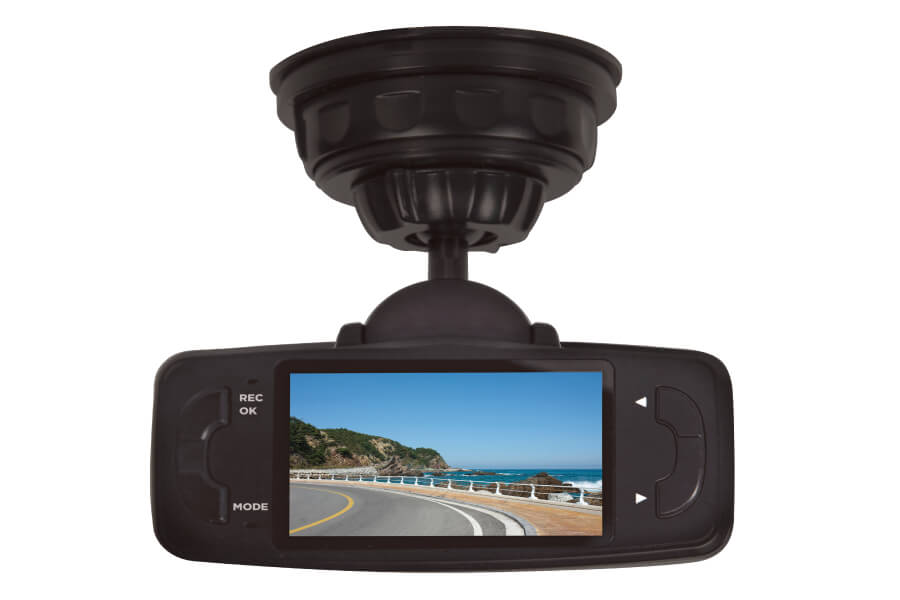 1080P 30fps Dash Camera with G-sensor & 170° Viewing