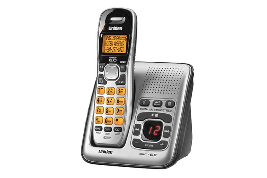 DECT 6.0 Cordless Answering System with Caller ID and Handset Speakerphone