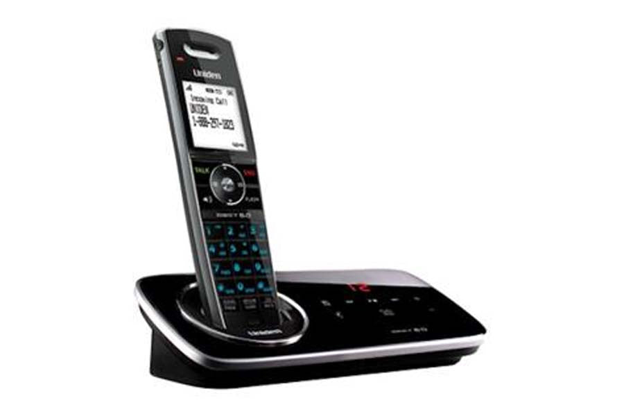 DECT 6.0 Cordless Phone with Digital Answering System w/ 1 Handset D2280