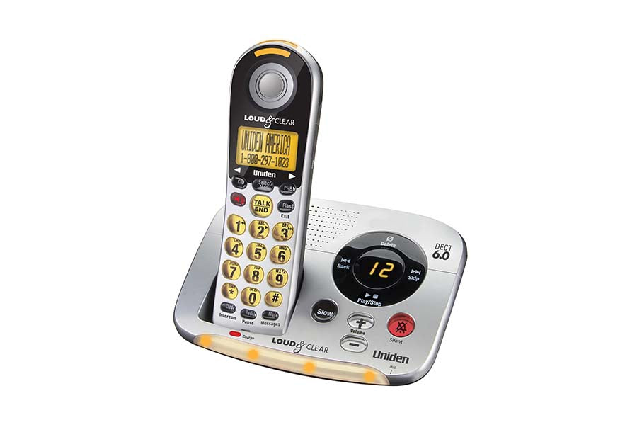 Dect 6 0 Cordless Phone With Digital Answering System And